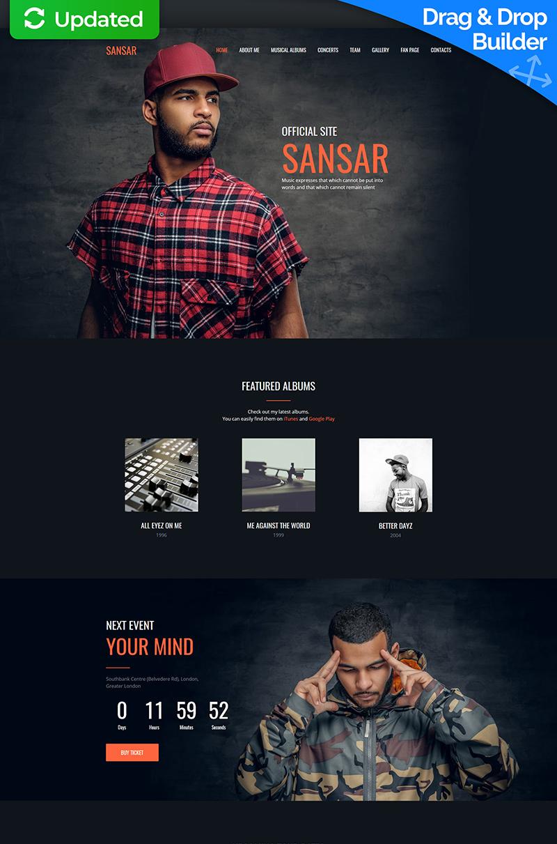 Reszponzív Sansar - Singer Premium Moto CMS 3 sablon 64202