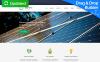 Templates Moto CMS 3 Flexível para Sites de Energia Solar №64209 New Screenshots BIG