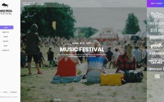 Music Responsive Joomla Template
