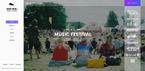 Музыка. Шаблон сайта 64350