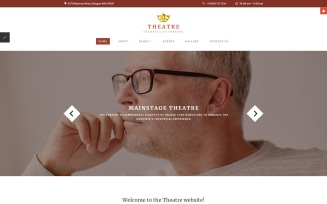 Theater Responsive Joomla Template