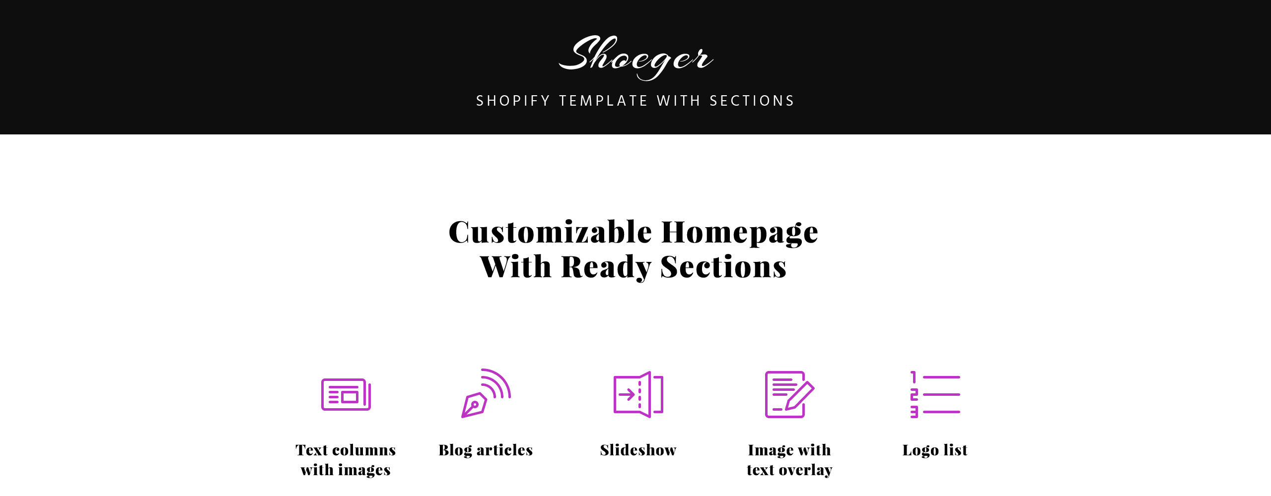 Shoeger Shoes  Responsive Shopify  Theme