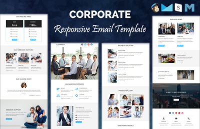 Web Design Newsletter Templates  Templatemonster