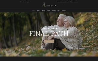 Final Path - Funeral Home Responsive WordPress Theme