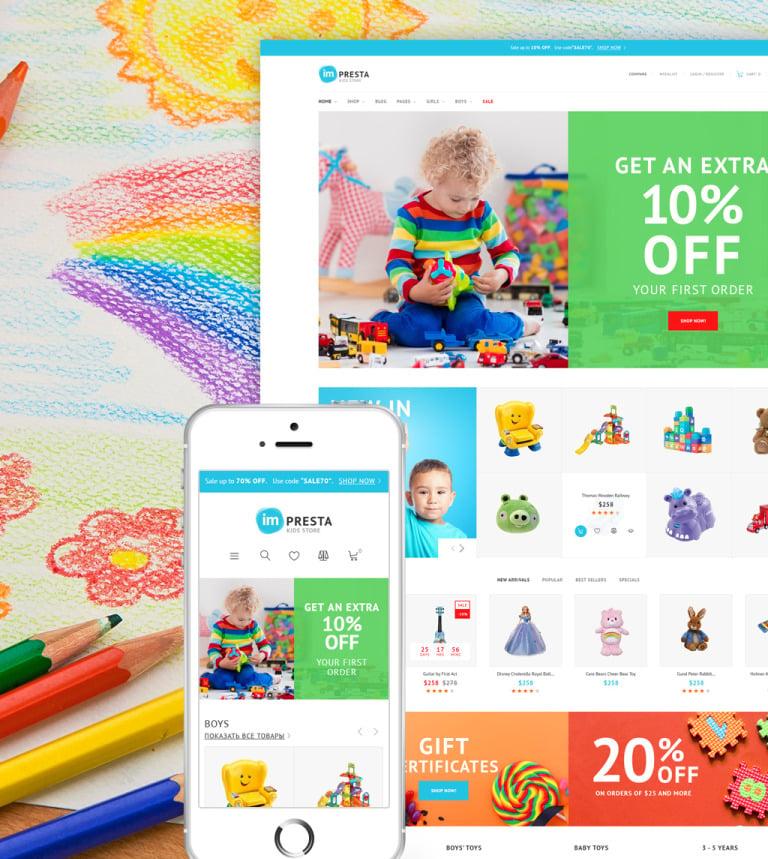 Impresta - Kids Store PrestaShop Theme