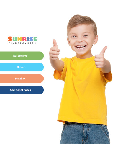 Kids Center Responsive Joomla Template #64399