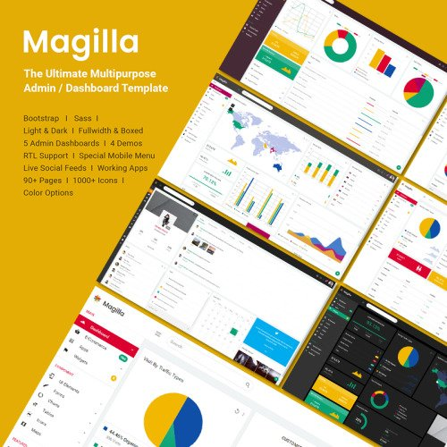 Magilla  - Admin Template based on Bootstrap
