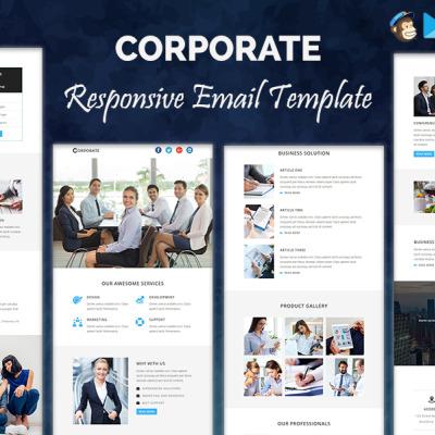 Mod les de newsletter mod les html email mod les d for Email bulletin template
