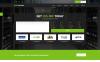 Modèle Web  pour site d'enregistrement de domaines Grande capture d'écran