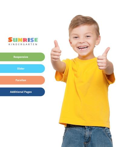 Responsive Plantilla Joomla #64399 para Sitio de  para Sitio de Centros para niños