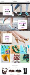 Responsive Ayakkabı Mağazası  Prestashop Teması New Screenshots BIG