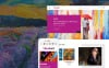 Responsive Sanat Galerisi  Prestashop Teması New Screenshots BIG