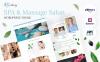 Responsive WordPress thema over Massage Salon New Screenshots BIG