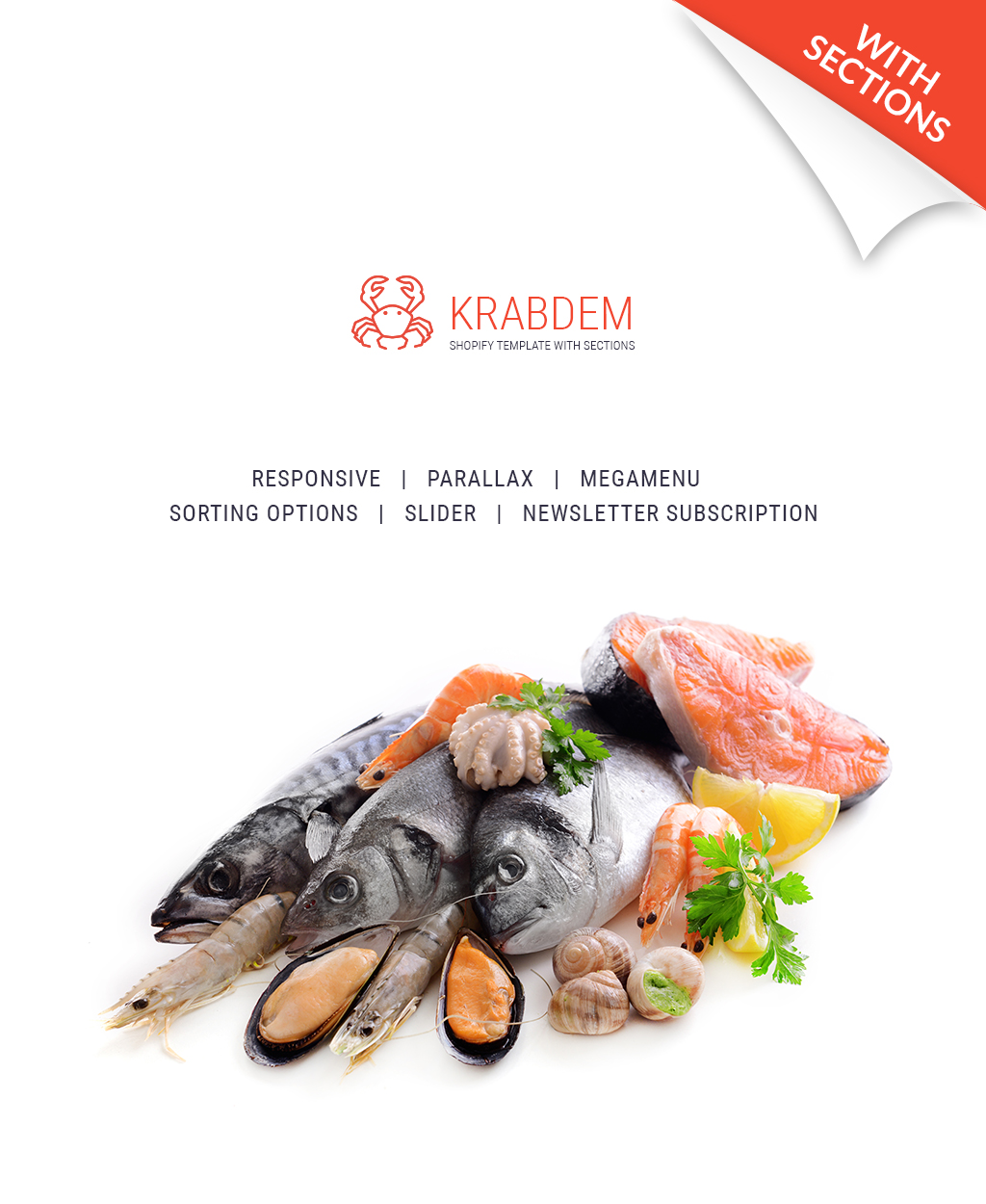 Seafood Restaurant Responsive Shopify Theme