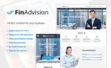 Template Muse Flexível para Sites de Consultoria №64371