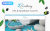 Thème WordPress adaptatif  pour salon de massage  New Screenshots BIG