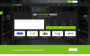 Website template over Domain Registrar Groot  Screenshot
