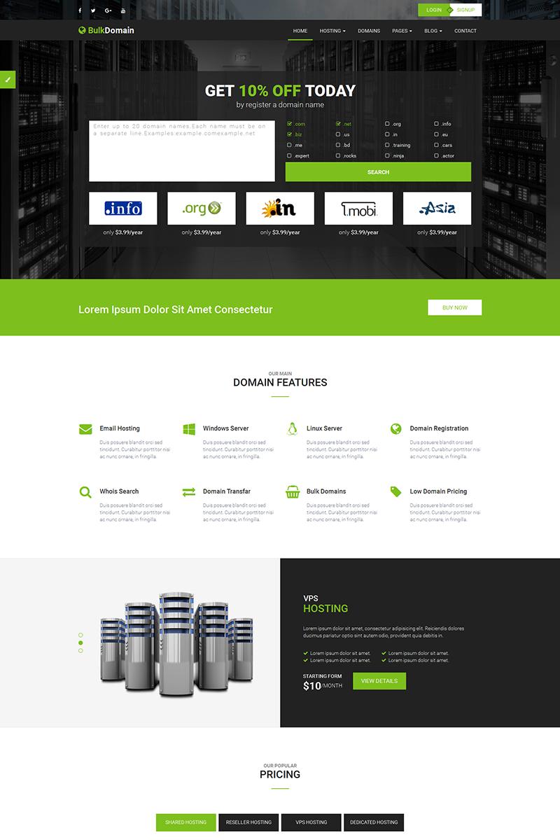 Fantastisch Hosting Der Website Vorlage Bilder - Beispiel ...