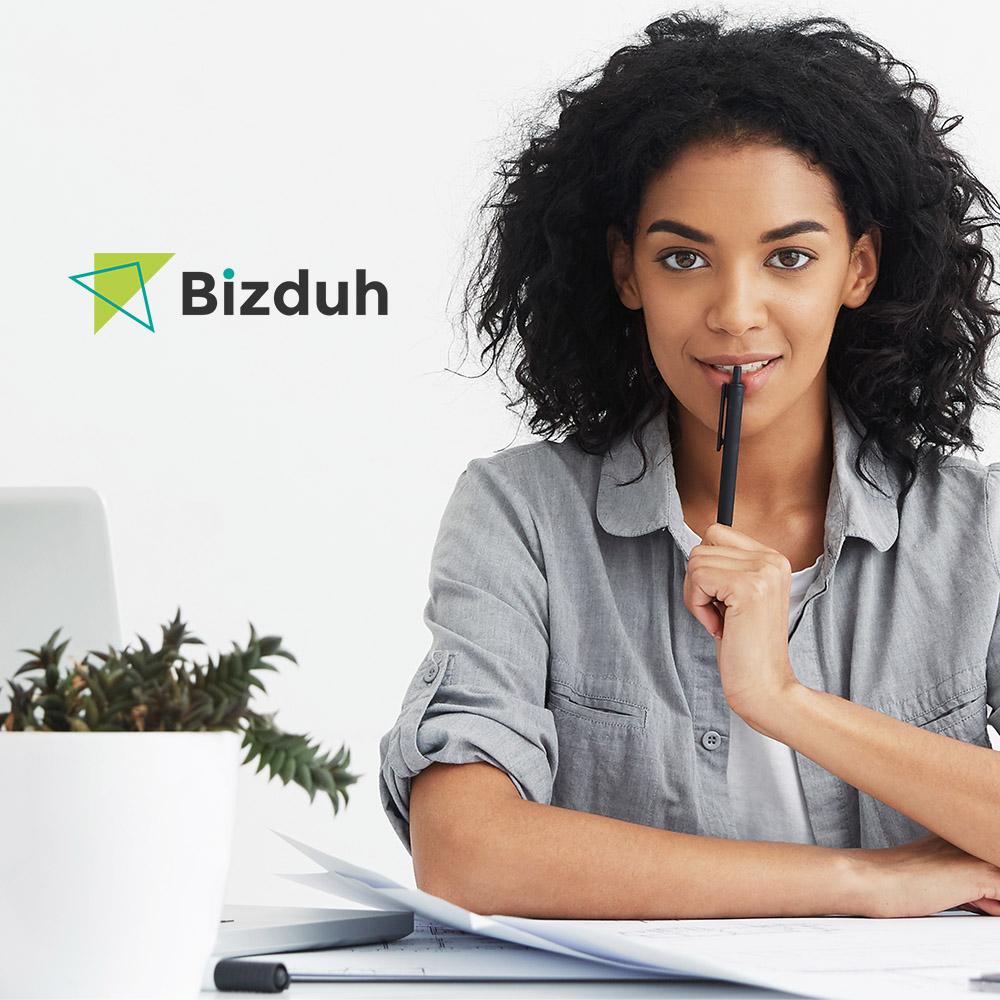 "WordPress Theme namens ""Bizduh - Business Consulting Company Responsive"" #64396 - Screenshot"