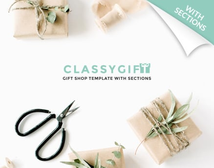 Gifts Shopify Theme