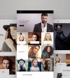 Weblium Website Concept för  modellbyrå New Screenshots BIG