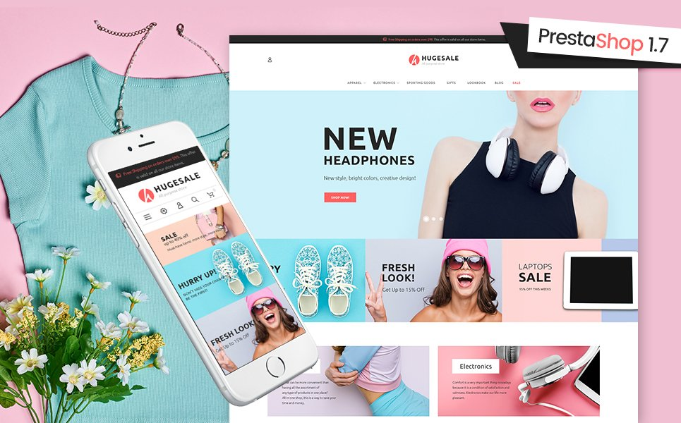 Hugesale PrestaShop Theme