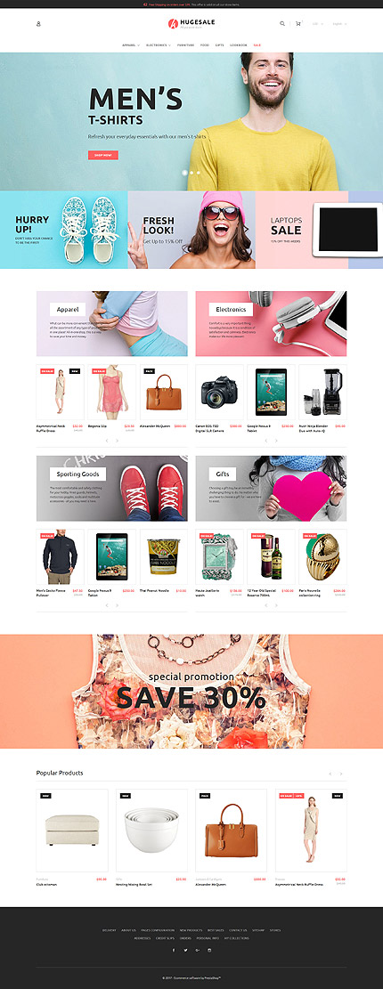 Hugesale PrestaShop Theme 2