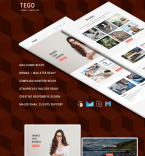 Newsletter Templates #64451 | TemplateDigitale.com