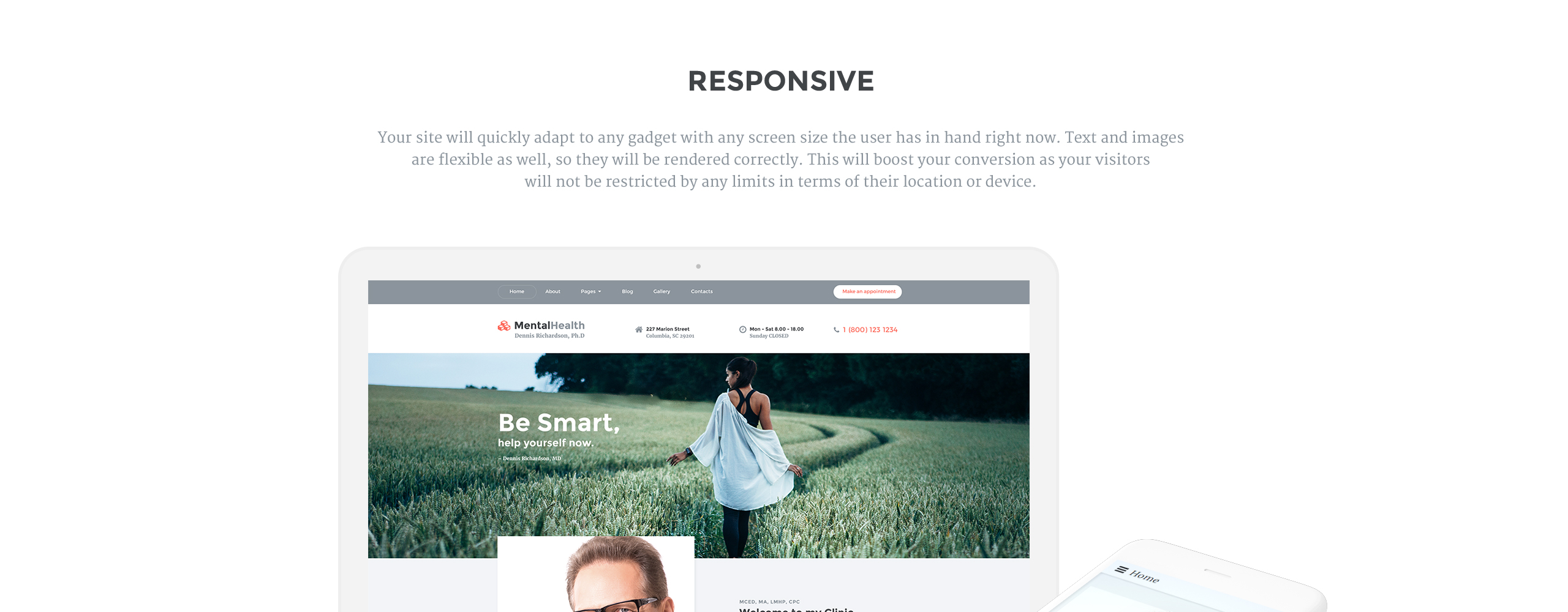 Mental Health  Responsive Joomla Template