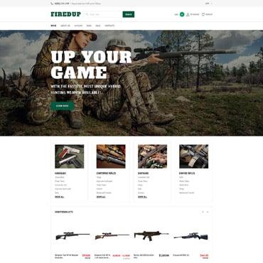 Hunto Hunting Shopify Template 64497