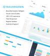 Адаптивный Шаблон панели управления №64400 на тему бизнес услуги New Screenshots BIG