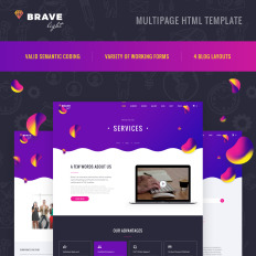 Print Media Web Templates Template Monster