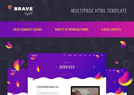Universal Multipurpose HTML