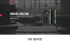 CanadaHost | Responsive HTML5 Web Hosting and WHMCS Templates Website Template Big Screenshot