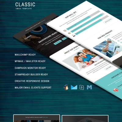 198 newsletter templates newsletter email templates templatemonster classic responsive email template newsletter template 64466 spiritdancerdesigns Images