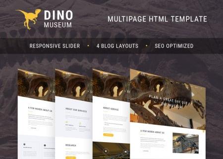 Paleontology Museum  HTML