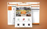 EBay Template #64438 na temat: kawiarnia i restauracja