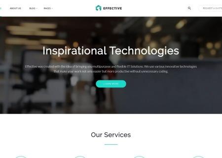 IT Company HTML