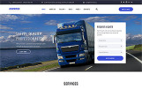 """Express - Logistics And Transportation Multipage"" Responsive Website template"
