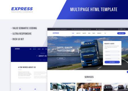 Trucking Company HTML