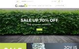Garden - Modèle de site Web de jardinerie