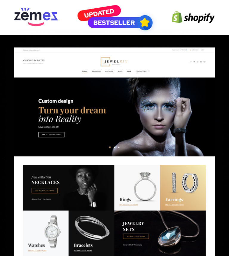 Jewelry Responsive Shopify Theme