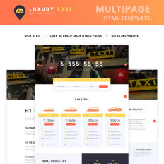 Luxury Taxi Multipage