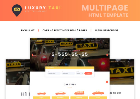 Taxi HTML