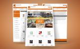 Modèle EBay  pour site de café et restaurant