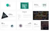 Modèle PowerPoint  pour site d'affaires et de services
