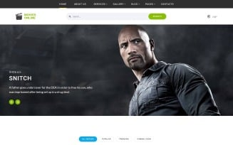 Movies Online - Multipage HTML Website Template