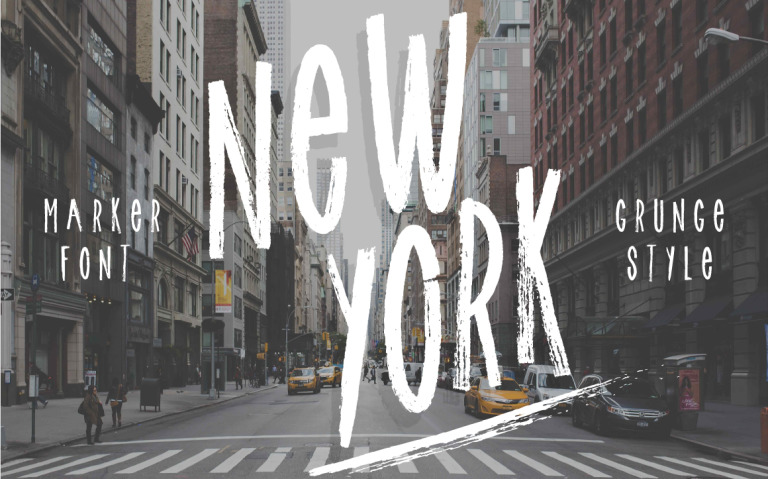 New York font! Font Big Screenshot