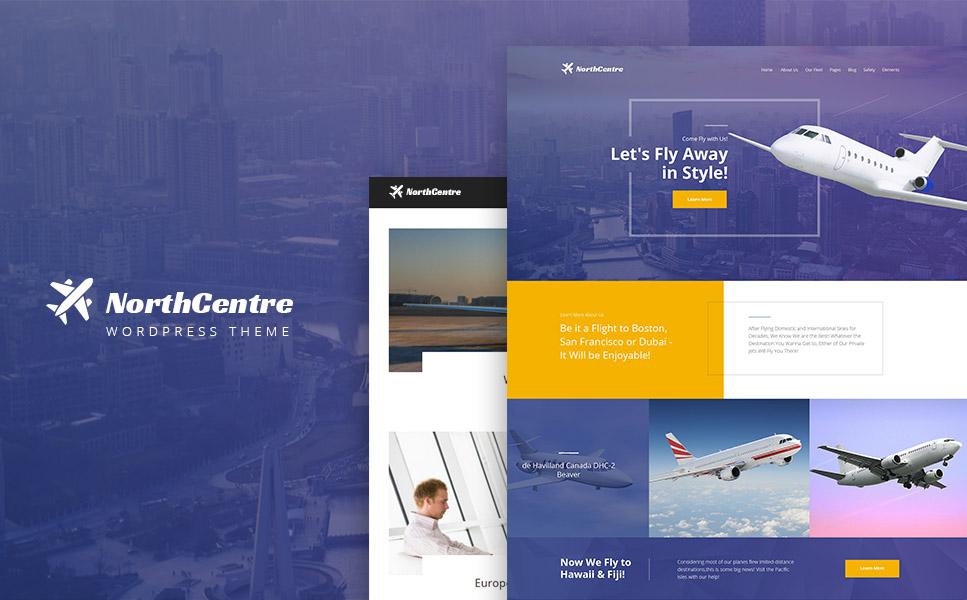 Tema de WordPress #64469 para Sitio de Billetes de avión