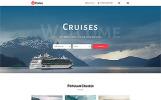 Plantilla Web para Sitio de Navegación de recreo o deportiva